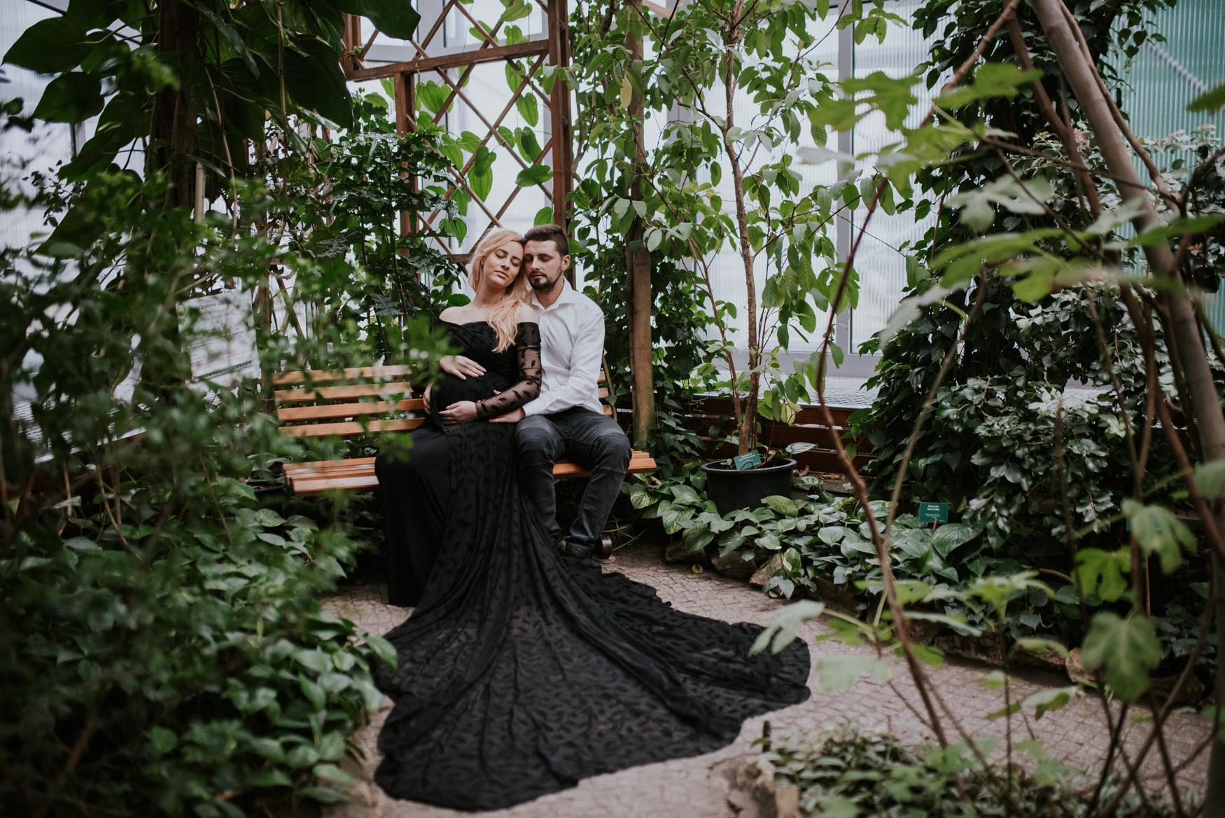 Sesja ciążowa Monika i Łukasz