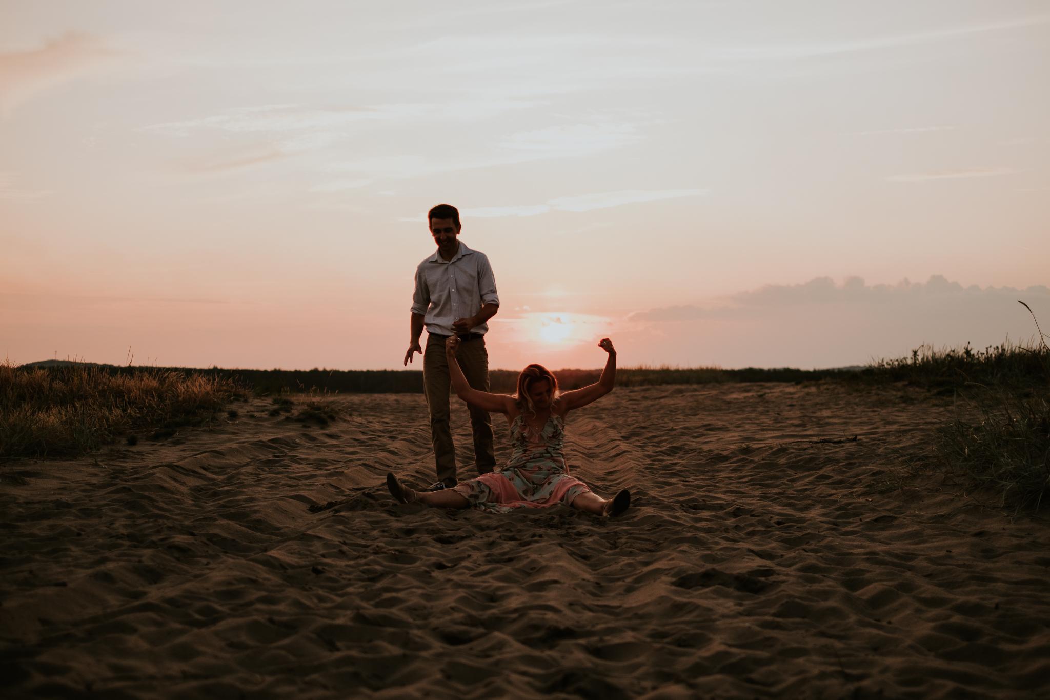 Sesja taneczna Martyna i Michał