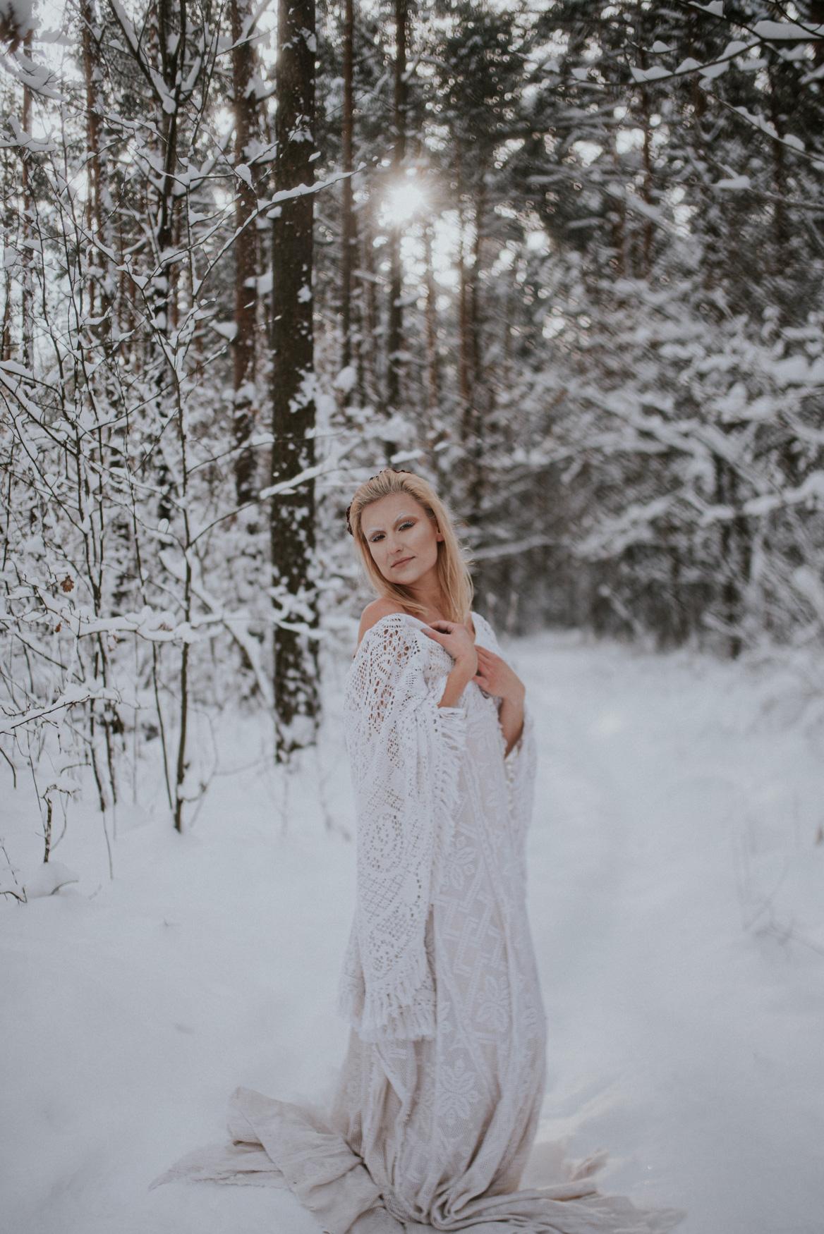 Sesja wędrujących sukienek Traveling Dress Polska - Sesja Marty