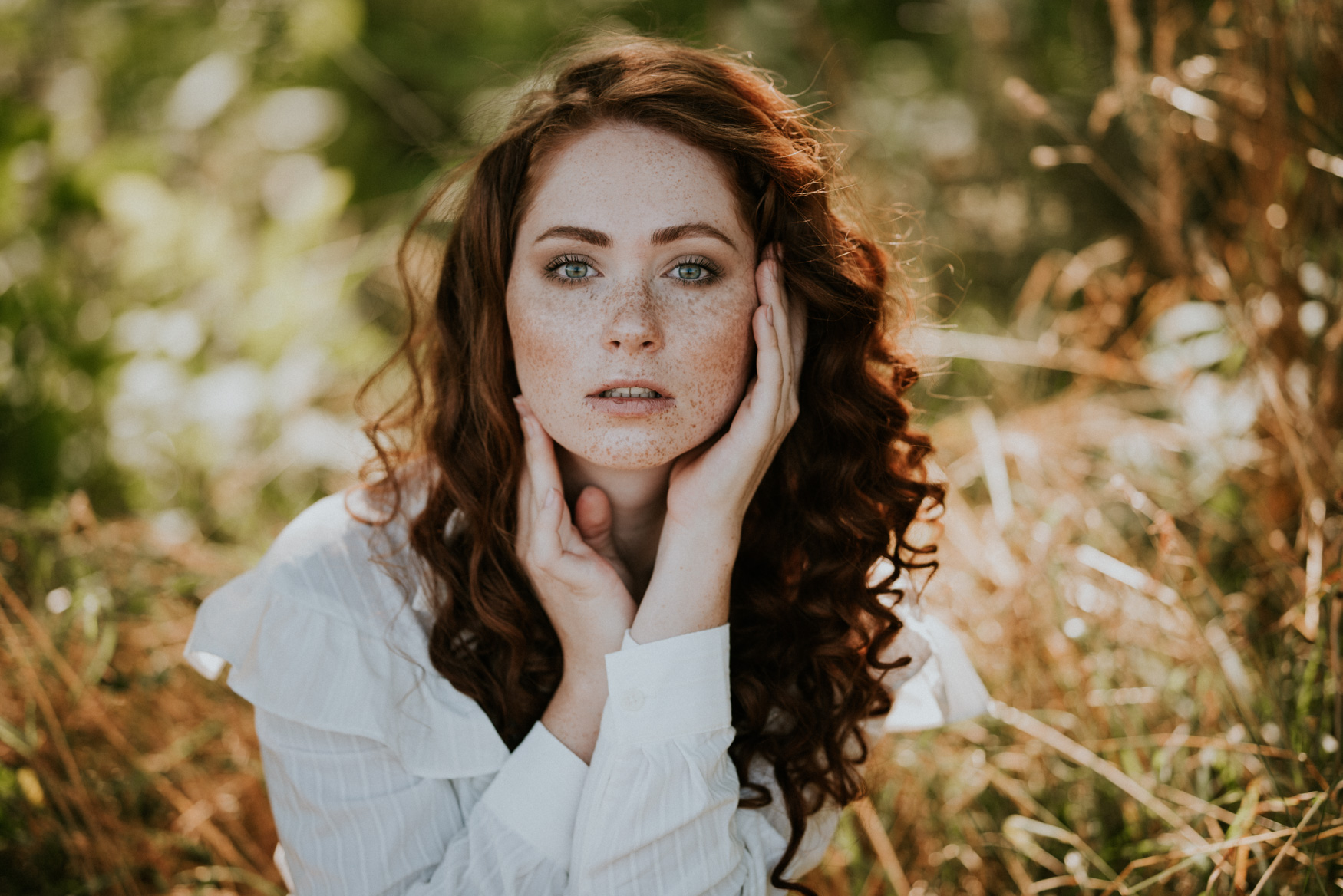 Sesja portretowa Ania z Zielonego Wzgórza